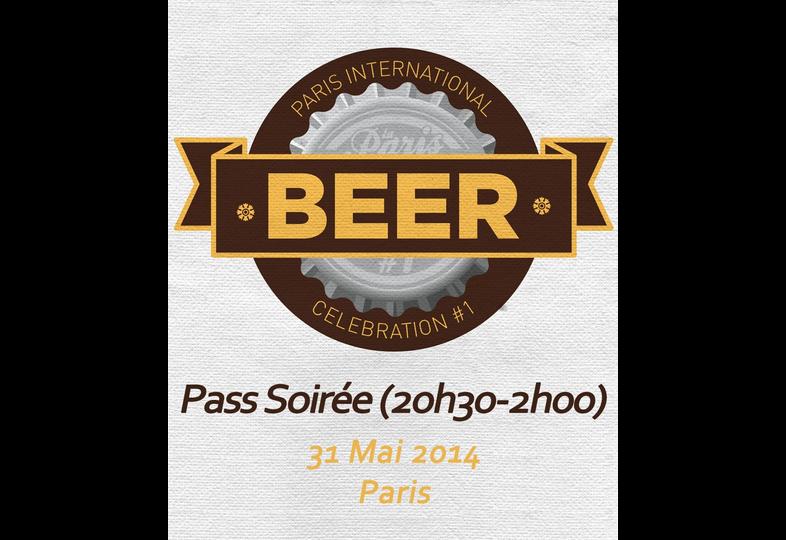 Tickets Paris Beer Week - Ticket Soirée 31/05 Paris International Beer Celebration