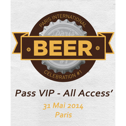 Tickets Paris Beer Week - Ticket VIP All Access Paris International Beer Celebration