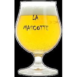 Beer glasses - La Mascotte 25cl glass
