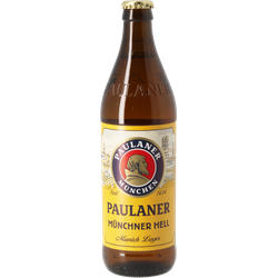 Bottled beer - Paulaner Original Münchner Hell 50cl