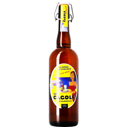 Bottled beer - La Cagole blonde 75cl