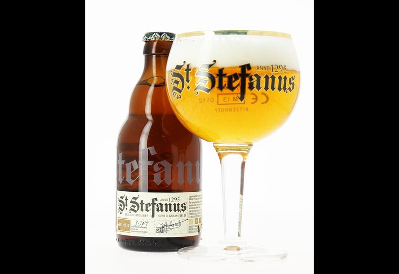 Monsieur bière - 6 St Stefanus + 1 verre