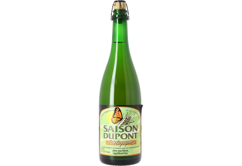 Flaskor - Saison Dupont Bio
