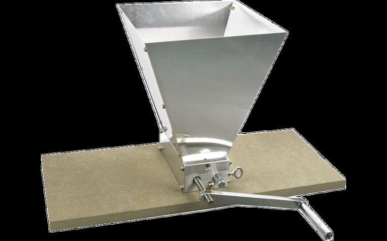 Accessoires du brasseur - Moulin à malt à rouleaux ajustables