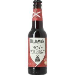 Bottled beer - Belhaven 90/~ Wee Heavy