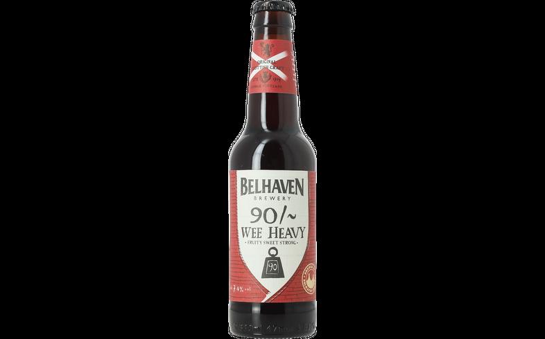 Bottled beer - Belhaven 90/~ Wee Heavy