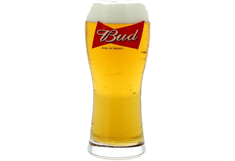 Ölglas - glass Bud - King of Beers