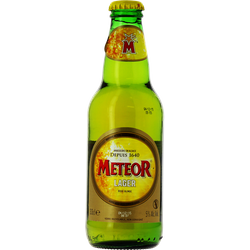 Bouteilles - Meteor Lager - 33 cL