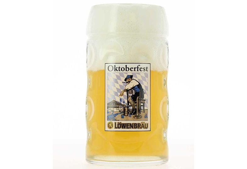 Verres à bière - Chope Oktoberfest Löwenbräu