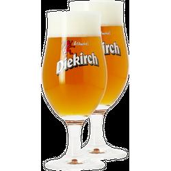 Biergläser - Pack 2 Verres Diekirch - 25 cl