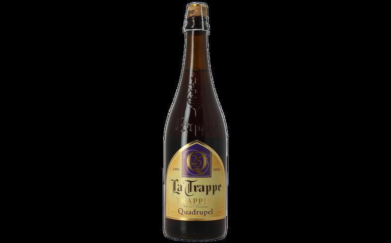 Bouteilles - La Trappe Quadrupel 75 cl