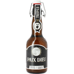 Bottled beer - Paix-Dieu