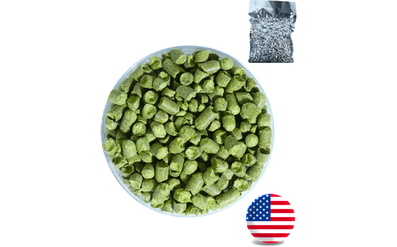 Houblons de brasserie - Houblon Simcoe (13,2%) en pellets - récolte 2020