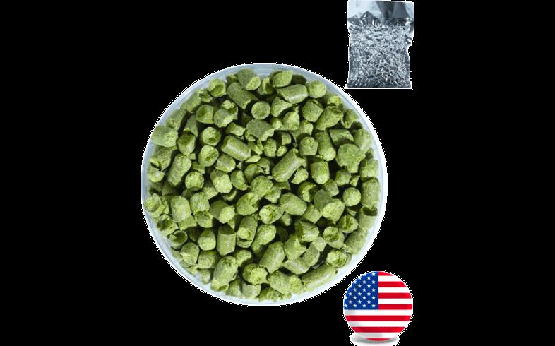 Houblons de brasserie - Houblon Mosaïc (11%) USA en pellets T90 récolte 2020 - 100g