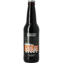 Bouteilles - Evil Twin I Love You With My Stout