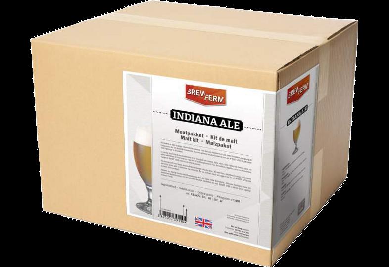 Kit ricette per tutti i grani - Kit di solo grani Brewferm Indiana Ale