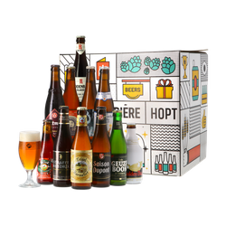 "Saveur Bière gift box - ""Vive la Belgique"" Beer Gift Pack"