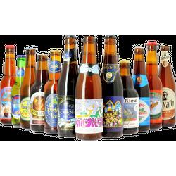 Pack de cervezas artesanales - Assortiment Dernière tournée de Noël