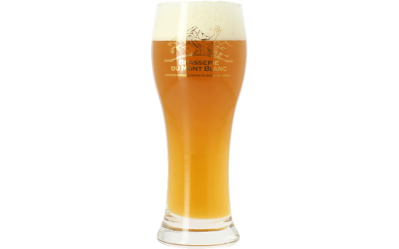 Verres à bière - Verre Mont Blanc à pied plat