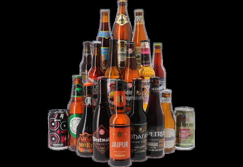 Bierpakketten - Bierpakket - Voor ieder wat wils - 18x33cl