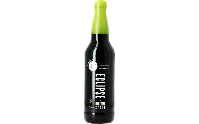 Bouteilles - Fifty Fifty Eclipse High West Rye Vintage 2014 - Lime Green