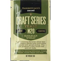 Levures pour fermentation - Levure Mangrove Jack's Bavarian Wheat M20 10g
