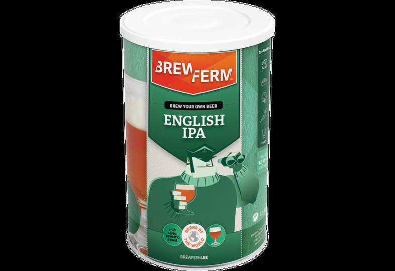 Kit à bière - Recette Bière English IPA - Kit à bière Brewferm English IPA 12 L