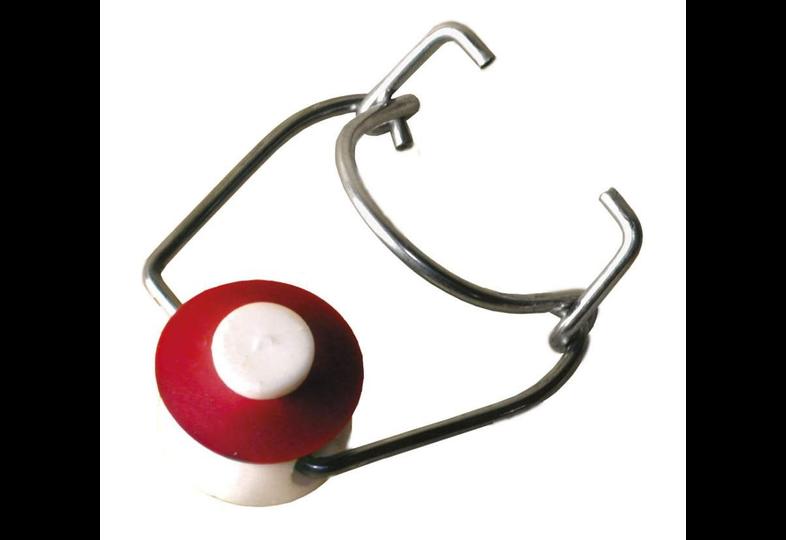 Nouveauté - 100 bouchons mécaniques joint rouge