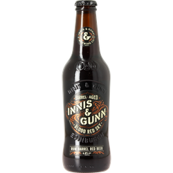 Bottled beer - Innis and Gunn Blood Red Sky