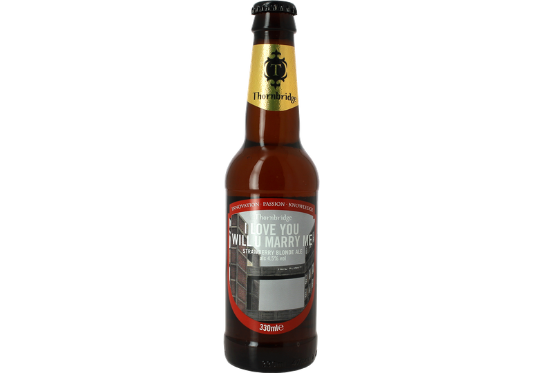 Bouteilles - Thornbridge I Love You Will You Marry Me