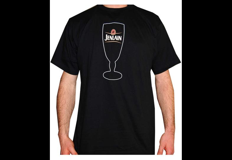 Tee shirt - T Shirt Jenlain - XL - logo du verre