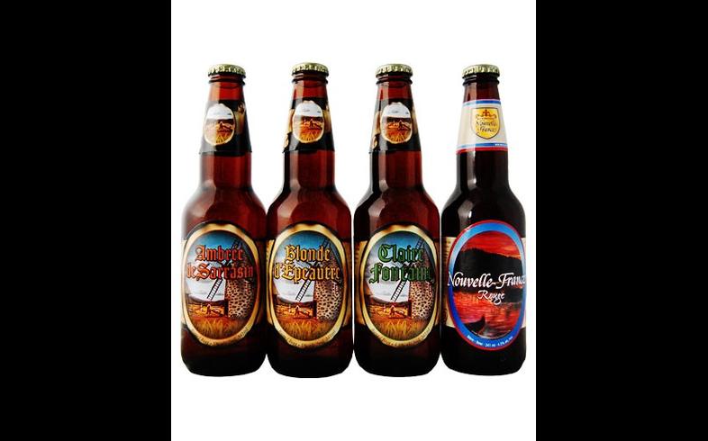 Pack de cervezas artesanales - Assortiment Bières Nouvelle France