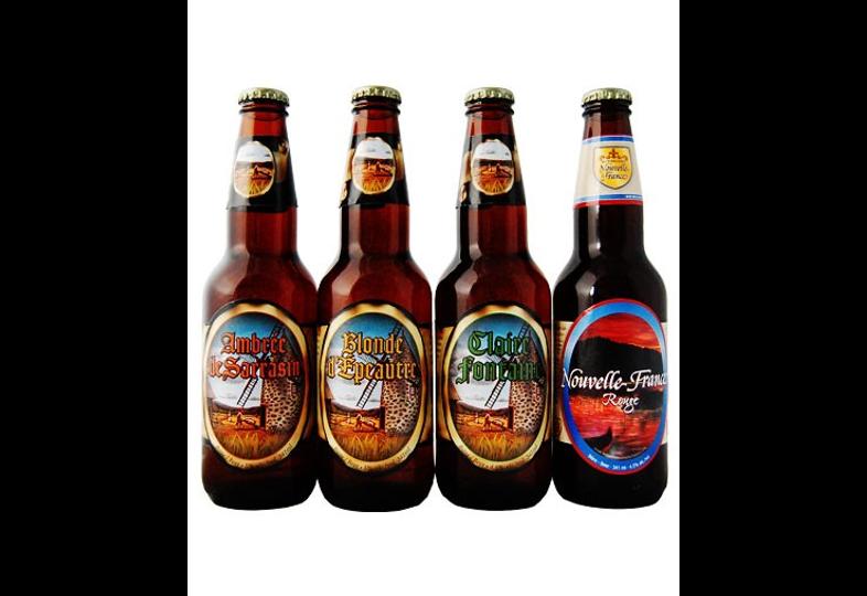 assortiments - Assortiment Bières Nouvelle France