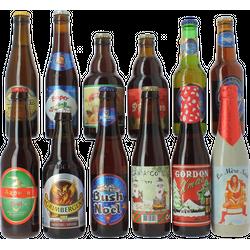 Pack de cervezas artesanales - Assortiment Bières de Noël 1