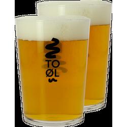 Ölglas - 2 Bodega To Øl glasses