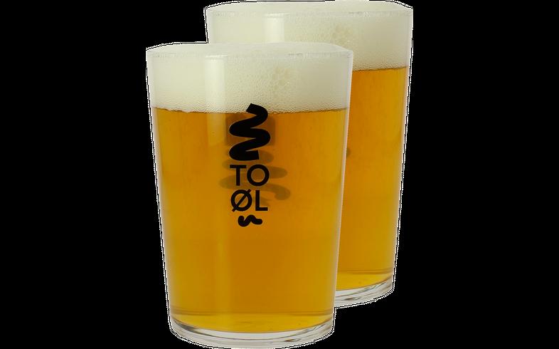 Beer glasses - 2 Bodega To Øl glasses