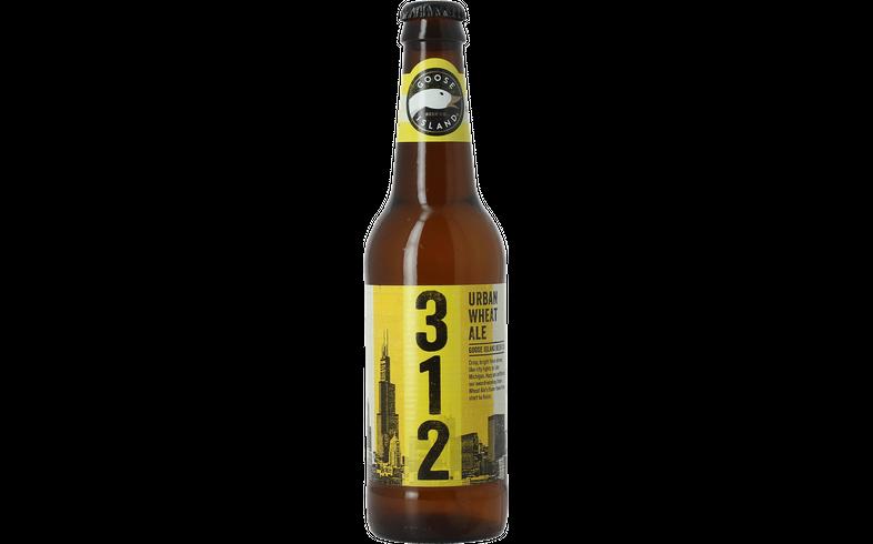 Bottled beer - Goose Island 312 Urban Wheat Ale