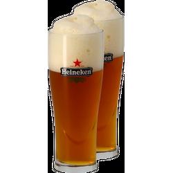 Verres à bière - Pack 2 Verres Heineken Ellipse - 33 cl