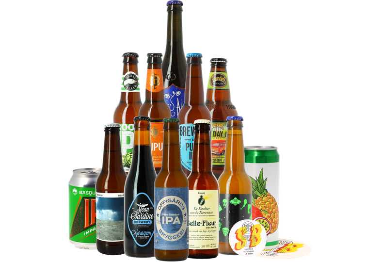 Bierpakketten - Bierpakket IPA - 12 stuks