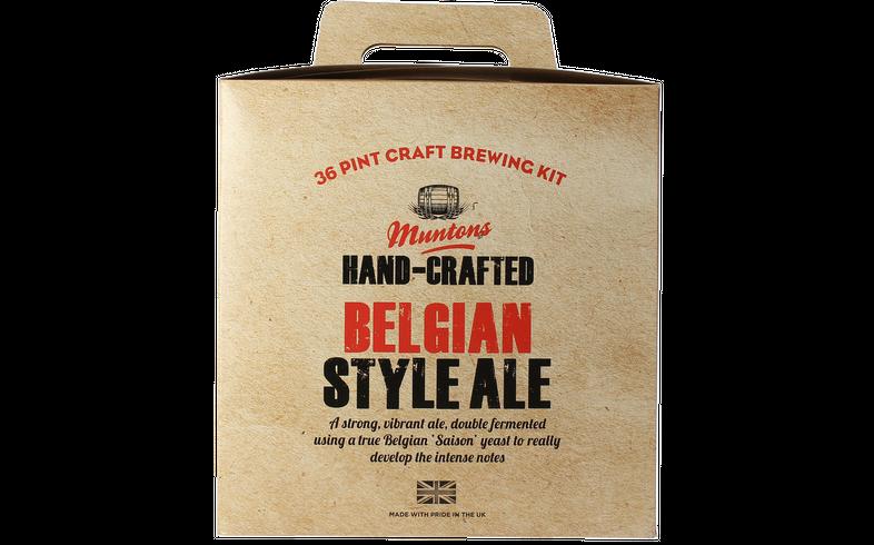 Kit à bière - Kit à bière Muntons Hand-Crafted Belgian Style Ale