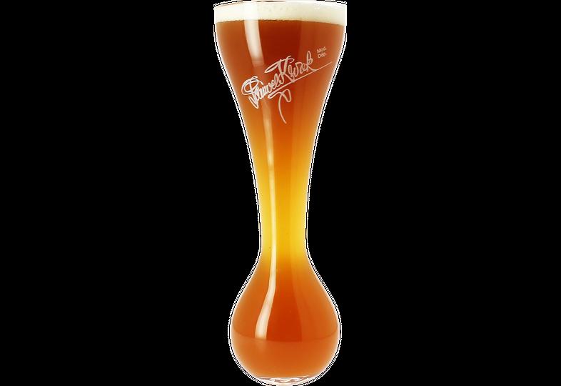 Ölglas - Bosteels Kwakglas utan träunderlag