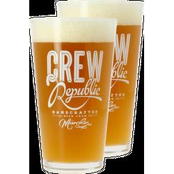 Biergläser - Pack 2x 30cl Crew Republic Gläser