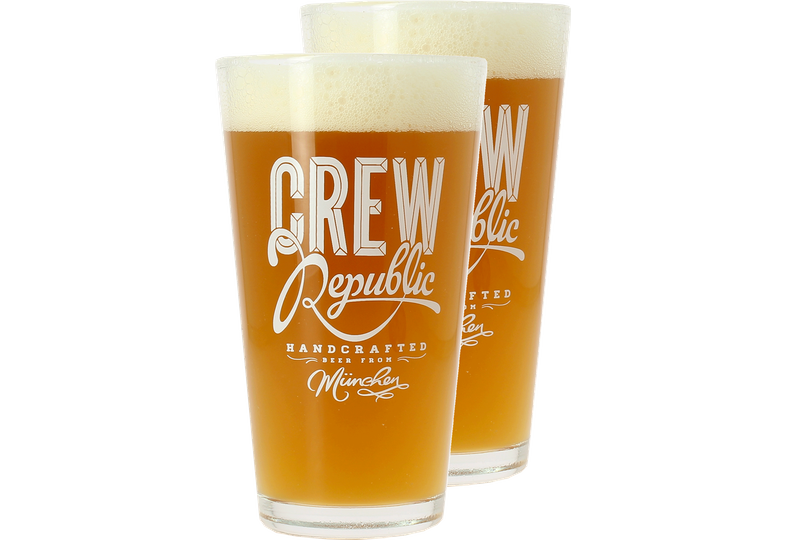 Beer glasses - Crew Republic Stange Glass