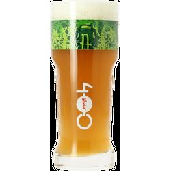 Verres à bière - Verre Grolsch 400 ans logo vert