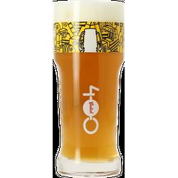 Verres à bière - Verre Grolsch 400 ans logo jaune