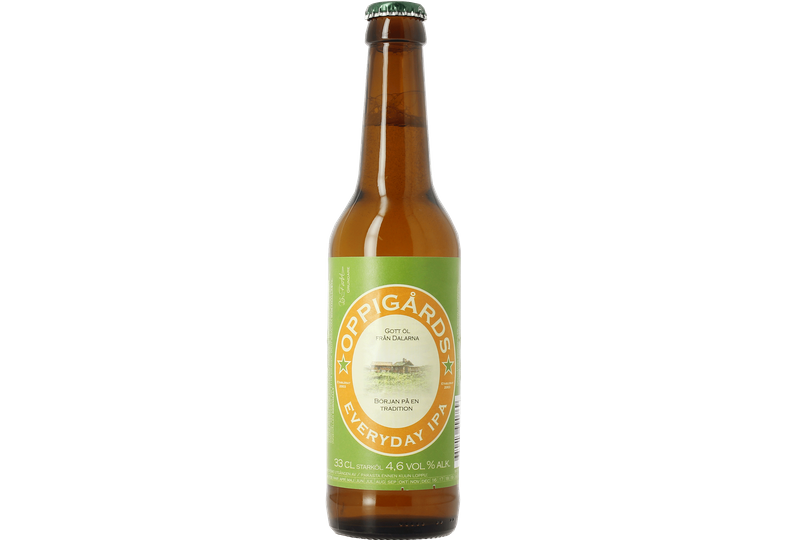 Bottled beer - Oppigårds Everyday IPA