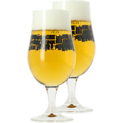 Beer glasses - 2 Basqueland Brewing Munich glasses - 33 cl
