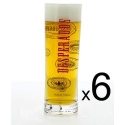 Lot de verre à bière - 6 verres Desperados long - nouveau