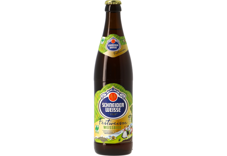 Bottled beer - Schneider TAP 4 Meine Festweisse