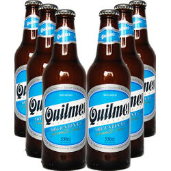 Botellas - Lot de 6 bières Quilmes
